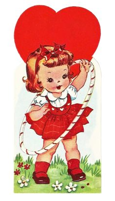 Adorable Free Vintage Valentine | *Free ♥ Pretty ♥ Things ♥ For ♥ You*