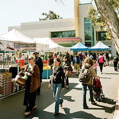 The Temescal Farmers' Market in Oakland, favorite spot with Jenny