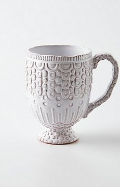 Textured Terracotta | 11 Unusually Beautiful Mugs For People Who Take Their Coffee Seriously (PHOTOS)