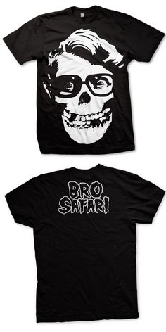 BRO SAFARI -Misfit- T-Shirt - Black