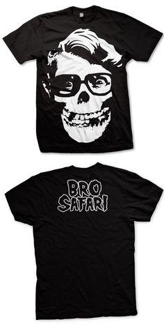BRO SAFARI -Misfit- T-Shirt - Black