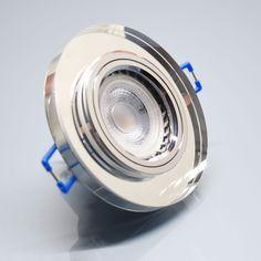 GLAS Einbaustrahler Einbauspot Einbaurahmen Spot Decken Einbauleuchte Lampe GU10 in Heimwerker, Lampen & Licht, Einbauleuchten | eBay!