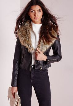 Black Friday Sales All. Weekend. Long | Faux fur collar