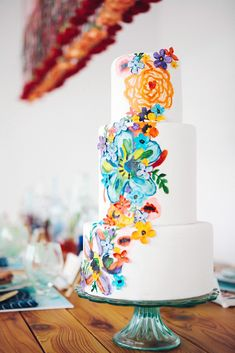 Exciting And Colourful Mexican Wedding Cake Ideas ❤ See more: http://www.weddingforward.com/mexican-wedding-cake-ideas/ #weddingforward #bride #bridal #wedding