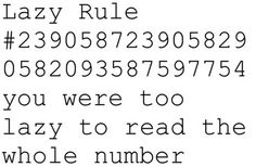 So true I was just reading it and thought the number didn't matter so I skipped it!