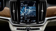 Volvo S90 - GPS navigation system