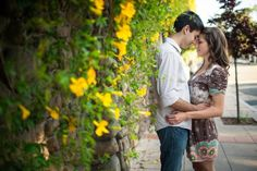 Ojai, CA engagement session. Photography by Driver Photo