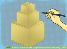 Wedding Card box  basic instructions then decorate as you wish