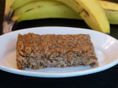 If you love banana bread, these vegan Banana Oat Bars are for you!