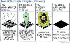 Tom Gauld: Fiendish Crosswords