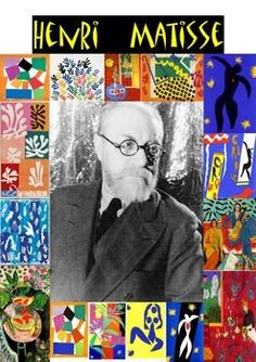 Henri Matisse's greatest works made for kids! This pack focuses on two of Matisse's best qualities, colors and shapes. Perfect for your youngsters Henri Matisse, Matisse Kunst, Matisse Drawing, Matisse Paintings, Chagall Paintings, Matisse Art, Oil Paintings, Landscape Paintings, Matisse Prints
