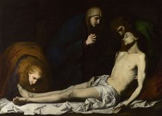 Jusepe de Ribera (1591–1652), The Lamentation over the Dead Christ, early 1620s, 1946, oil on canvas, 129.5 x 181 cm (51 x 71 1/4 in.), The National Gallery, London, Presented by David Barclay, 1853 © 2010 National Gallery of Art, Washington, DC