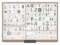 Handy Chart Helps You Understand the Elements of Typography |  Pop Chart Lab | From WIRED.com