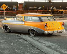 Forgeline Motorsports manufactures the world's finest premium forged aluminum custom performance racing wheels for the most discerning enthusiasts and the most demanding applications Cool Car Paint Jobs, Super Chevy Magazine, 1956 Chevy Bel Air, Detroit Steel, Chevy Nomad, Car Colors, Performance Cars, Custom Cars, Cool Cars