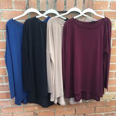 Fall piko tops have arrived! Only $38 #whatsnew #fall #fallcolors #shopping