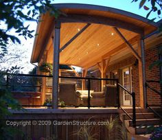 Covered Deck Plans | Covered Deck with Kitchen in Kitchener Waterloo