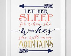 let her sleep for when she wakes – Etsy