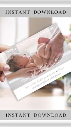 Birth Announcement Template, Baby Announcement Cards, Baby Milestone Chart, Wishes For Baby, Baby Learning, Baby Birth, Baby Milestones, Baby Cards, Maternity Photography