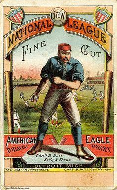 Chew National League Fine Cut, via Flickr.