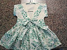 Super cute vintage clothespin bag dress for sale at More Than McCoy at http://www.morethanmccoy.com