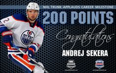Andrej Sekera, Edmonton Oilers • December 6, 2016 • NHLTrunk.com