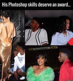 His photoshop skills deserve an award... #Funny #Memespic.twitter.com/NyrCKVaDRy http://ibeebz.com
