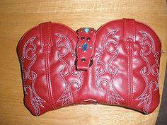 Cowboy boot purses!