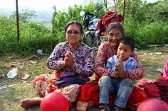 Families left homeless after the earthquake. Help provide supplies and shelters for those affected.