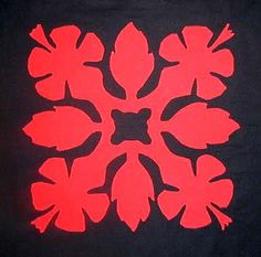 Free Quilting Stencils | Hawaiian quilt stencil | Print. Color ... : free hawaiian quilt patterns - Adamdwight.com
