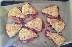 Buckwheat-Rhubarb Scones (gluten free) // Food 52 from Shauna Ahern Gluten Free Treats, Gluten Free Baking, Gluten Free Desserts, Gluten Free Recipes, Patisserie Sans Gluten, Dessert Sans Gluten, Rhubarb Scones, Baking Scones, Buckwheat Recipes
