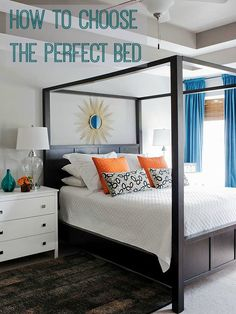 How to Choose the Perfect Bed that's right for you and your bedrom | Love Chic Living