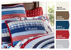Quilt – Paint colors from Chip It! by Sherwin-Williams