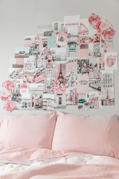 Fashion aesthetic vibes collage pictures Photo Wall Collage, Picture Wall, Travel Collage, Cute Room Ideas, Wall Decor Set, Roomspiration, Aesthetic Collage, Aesthetic Light, Pink Room
