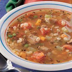 SOUP RECIPES on Pinterest | Barley Soup, Beef Barley Soup and Potato ...