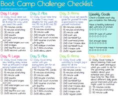 I love this checklist because of the super helpful Daily Goals and Weekly Goals. Good reminders- something good to pin up.