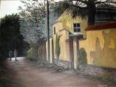 Quadro Pintura by Jorge Marcovich Depois da Chuva - After Rain - Oil painting