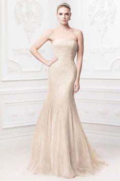 Zac Posen Wedding Dresses for David's Bridal. To see more: http://www.modwedding.com/2014/07/08/zac-posen-wedding-dresses-davids-bridal/ #wedding #weddings #wedding_dress