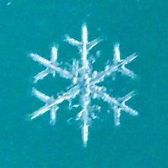 sneeuwvlok die je zelf kunt fotograferen