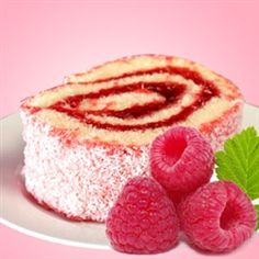 Raspberry Zinger: This wonderful creative scent begins with sweet raspberry and toasted coconut, middle notes of buttercream frosting and bottom notes of freshly baked yellow sponge cake.