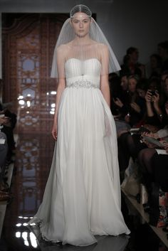 591dad3785 Reem Acra Bridal Fall 2013