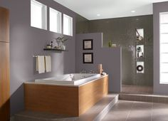 This is the project I created on Behr.com. I used these colors: HEATHER SACHET(HDC-AC-27),