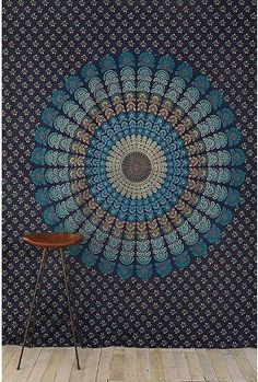 Another cute navy tapestry for the tables, $38 U.O.