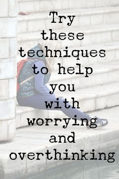 These techniques can help manage anxiety, worrying, overthinking, ruminating and unhelpful thoughts. It's so easy to get stuck in a cycle. Click the link to learn techniques to help you break it. Anxiety Relief, Stress Relief, Yoga, Affirmations, Understanding Anxiety, Meditation, Anxiety Help, Overcoming Anxiety, Calming Anxiety
