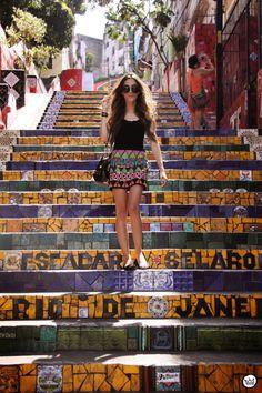 Selarón staircase at Lapa