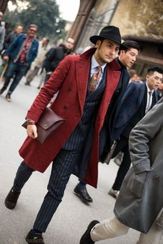 Everything, but mainly the overcoat!