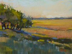 Landscape Painting South Carolina by KarenMargulisFineArt on Etsy, $100.00