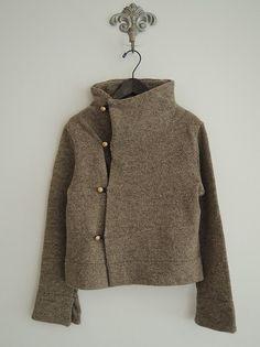 InJapan.ru — TIGRE BROCANTE... * Вязаный куртка *0914 — просмотр лота