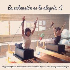 """@inspirahpilates's photo: """"La extensión es la alegría. #Pilates @Balanced_Body Teacher Training México con @Lily29 y Susana :)"""""""