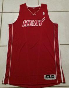 Rare NWOT ADIDAS Miami Heat (RED) Authentic Blank NBA Jersey Men's 3XL Tall in Sports Mem, Cards & Fan Shop, Fan Apparel & Souvenirs, Basketball-NBA   eBay
