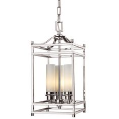 With a sleek brushed nickel finish, this three light chandelier uses matte opal cylinder shades to create a cutting edge look. Elegant uncluttered appeal with clean lines complete a modern look, making this fixture perfect for any contemporary setting.